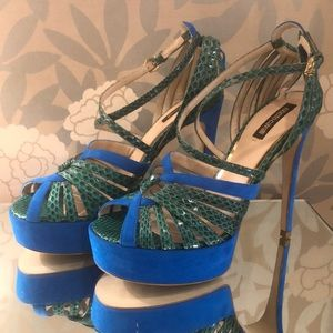 Roberto Cavalli platform shoe